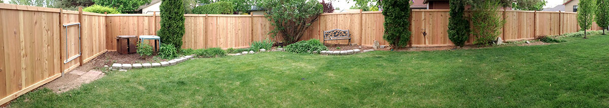 fence pano