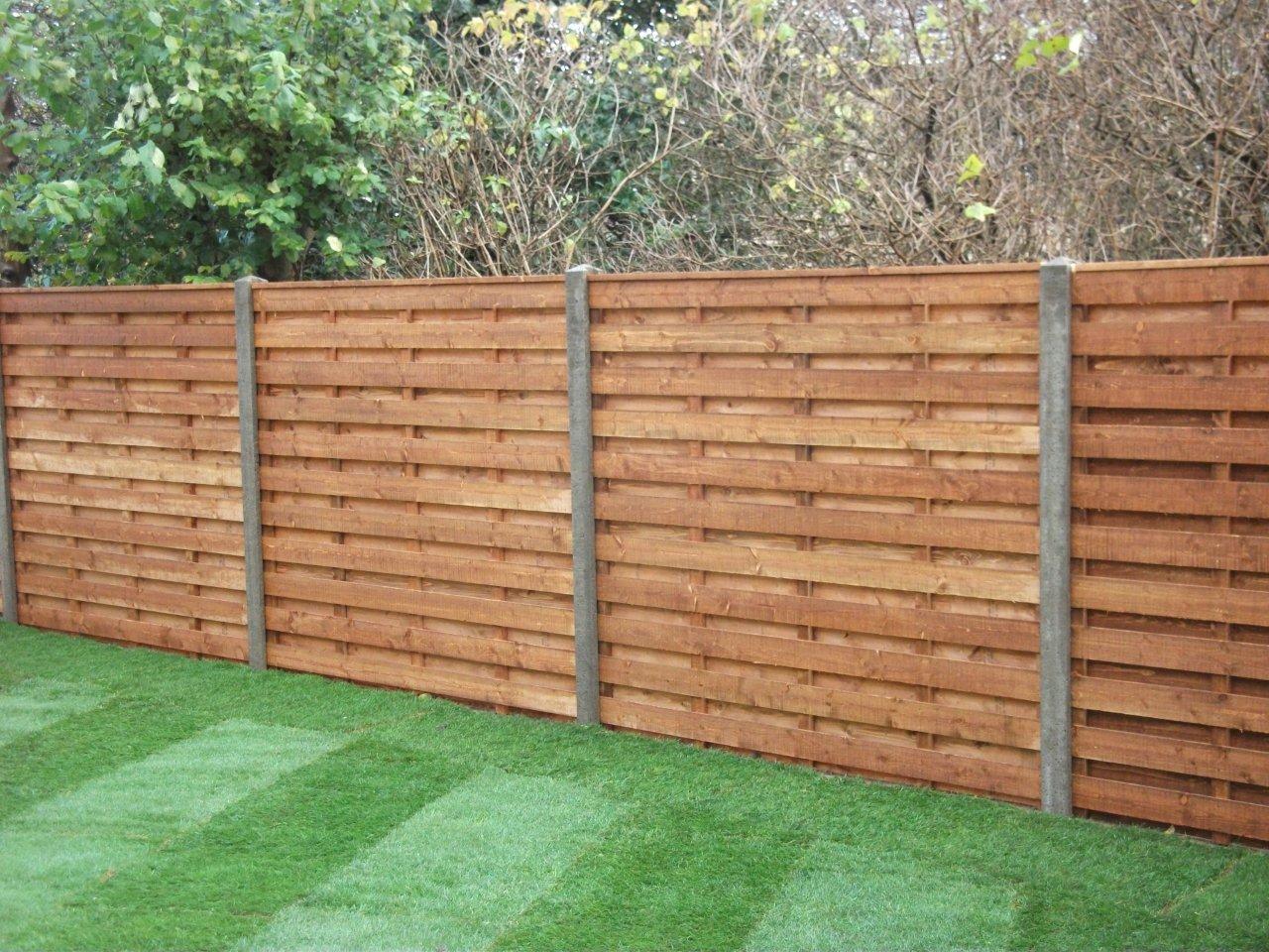 Garden fencing w burton and son garden fencing essentials baanklon Choice Image
