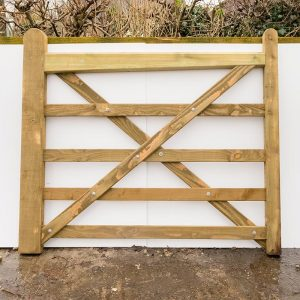 Wooden Field Gates