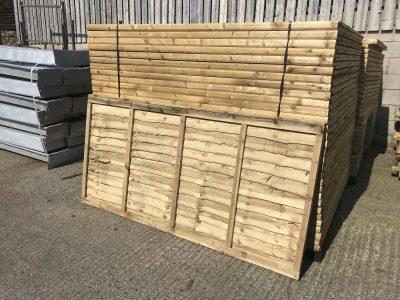 W Burton Economy Fence Panels