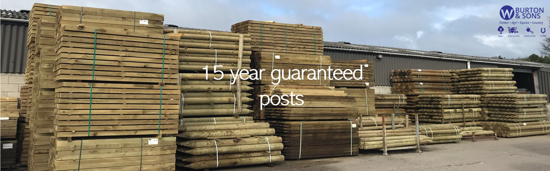 15 year Guaranteed Posts at W Burton Slider