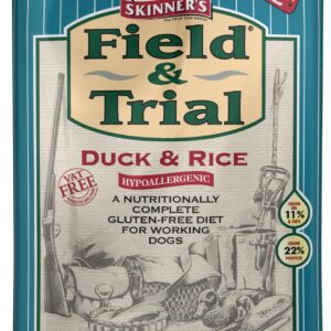 Skinners Field and Trial Duck and Rice Dog Food