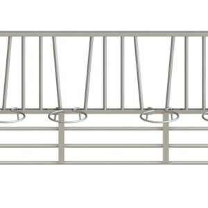 Simple Calf Pen Front Panels 4 Opening by IAE