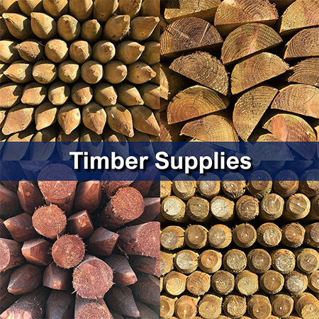 Timber Supplies {Posts, sawn and planed}