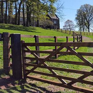 ScanPole Field Gates